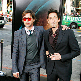 "Robert Downey Jr., Adrien Brody in Los Angeles Premiere of Warner Bros. Pictures ""Splice"""