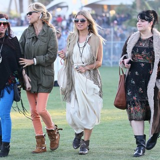 Stacy Ferguson in Celebrities at The 2012 Coachella Valley Music and Arts Festival - Day 2
