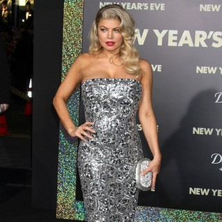 Stacy Ferguson in Los Angeles Premiere of New Year's Eve