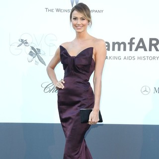 Stacy Keibler in 66th Cannes Film Festival - amfAR's 20th Annual Cinema Against AIDS - Arrivals