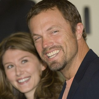 Jewel Staite, Adam Baldwin in Press Conference for The Film Serenity - The Edinburgh International Film Festival
