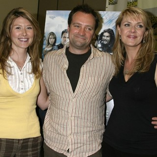 Jewel Staite, David Hewlett, Amanda Tapping in ComicCon Convention 2007