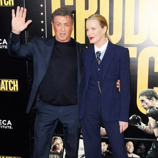 Sylvester Stallone, Kim Basinger in Grudge Match New York Screening - Red Carpet Arrivals