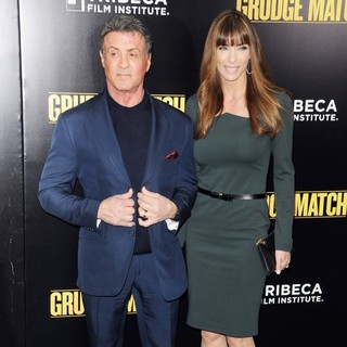 Sylvester Stallone, Jennifer Flavin in Grudge Match New York Screening - Red Carpet Arrivals