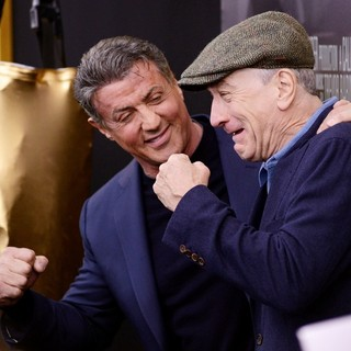 Sylvester Stallone, Robert De Niro in Grudge Match New York Screening - Red Carpet Arrivals