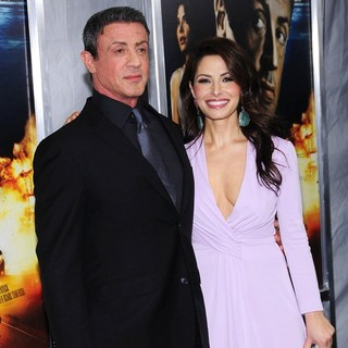 Sylvester Stallone, Sarah Shahi in New York Premiere of Bullet to the Head