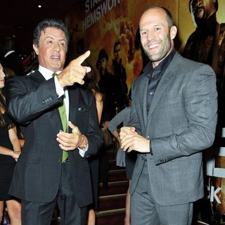 Sylvester Stallone, Jason Statham in The Expendables 2 UK Premiere - Arrivals
