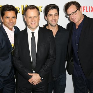 John Stamos, Dave Coulier, Josh Peck, Bob Saget in Premiere of Netflix's Fuller House
