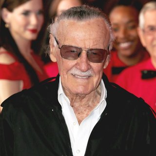 Stan Lee in Stan Lee Officially Unveils Madame Tussaud's Marvel 4D Theater