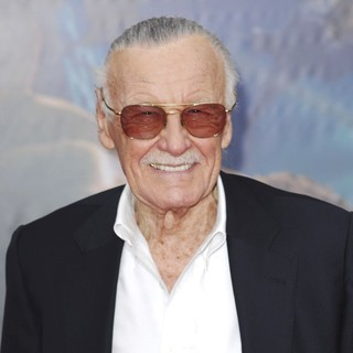 Stan Lee in World Premiere of The Avengers - Arrivals