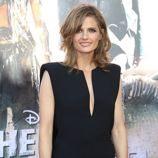 Stana Katic in The World Premiere of Disney-Jerry Bruckheimer Films' The Lone Ranger