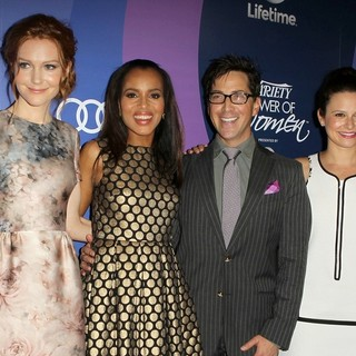 Darby Stanchfield, Kerry Washington, Dan Bucatinsky, Katie Lowes in Variety's 5th Annual Power of Women Event