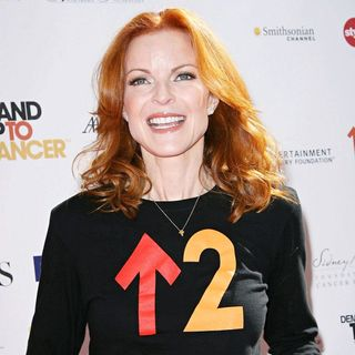 Marcia Cross in 2010 Stand Up To Cancer - Arrivals