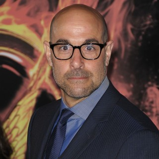 Stanley Tucci in Los Angeles Premiere of The Hunger Games - Arrivals