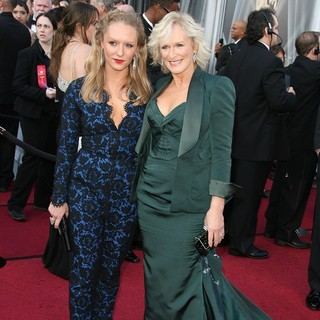Annie Starke, Glenn Close in 84th Annual Academy Awards - Arrivals