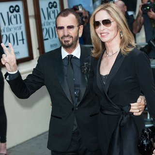Ringo Starr, Barbara Bach in The GQ Awards 2014 - Arrivals