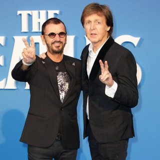 Ringo Starr, Paul McCartney in The Beatles Eight Days A Week World Premiere