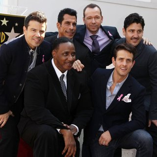 Maurice Starr, New Kids On The Block in New Kids On The Block on The Hollywood Walk of Fame