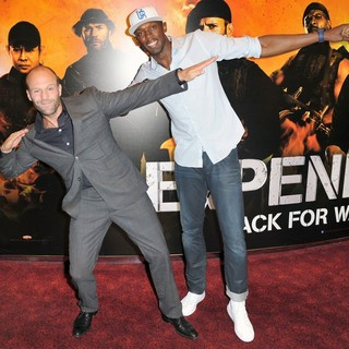 Jason Statham, Usain Bolt in The Expendables 2 UK Premiere - Arrivals