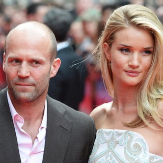 Jason Statham, Rosie Huntington-Whiteley in London Premiere of The Hummingbird - Arrivals