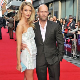 Rosie Huntington-Whiteley, Jason Statham in London Premiere of The Hummingbird - Arrivals