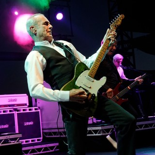 Francis Rossi, John Edwards, Andy Bown, Status Quo in The Amp It Up - The Riviera Rock Festival Live