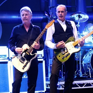 Rick Parfitt, Francis Rossi, Status Quo in The Amp It Up - The Riviera Rock Festival Live