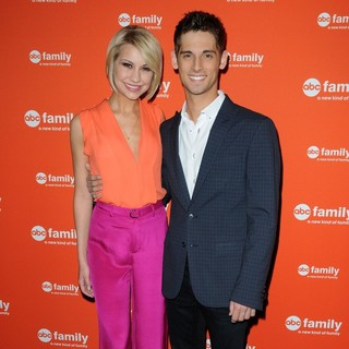 Chelsea Staub, Jean-Luc Bilodeau in ABC Family Upfront