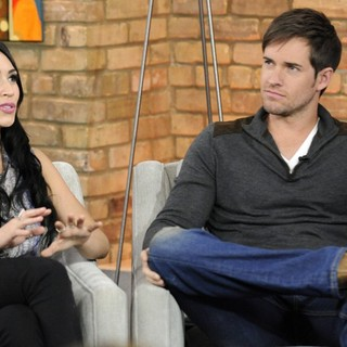 Cassie Steele, Jonathan Patrick Moore in Cassie Steele Appears on The Marilyn Denis Show Promoting TV Series The L.A. Complex