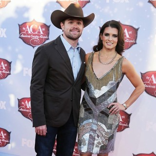 Ricky Stenhouse, Jr., Danica Patrick in 2013 American Country Awards - Arrivals