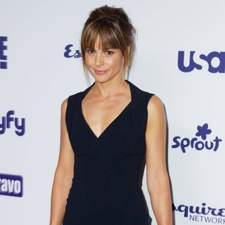 Stephanie Szostak in NBC Universal Cable Entertainment Presents An All Together Upfront Celebration - stephanie-szostak-all-together-upfront-celebration-02