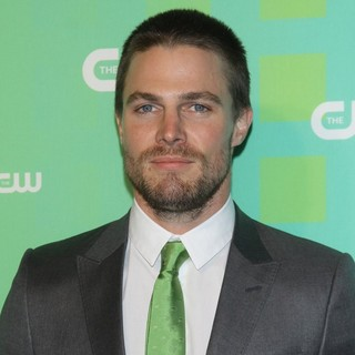 Stephen Amell in 2012 The CW Upfront Presentation