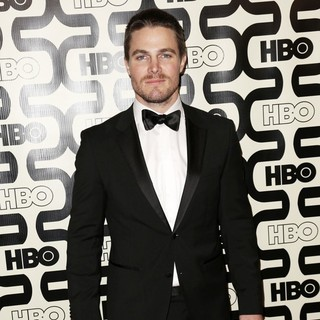 Stephen Amell in 2013 HBO's Golden Globes Party - Arrivals