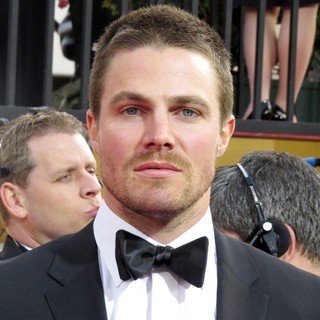 Stephen Amell in 70th Annual Golden Globe Awards - Arrivals