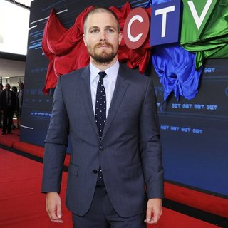 Stephen Amell in CTV Upfront 2014 Arrivals