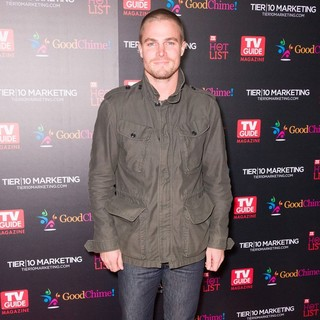Stephen Amell in TV Guide Magazine's Annual Hot List Party