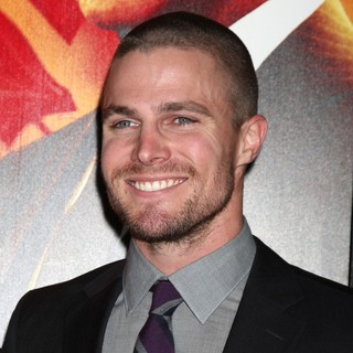 Stephen Amell in HBO's Luck Los Angeles Premiere