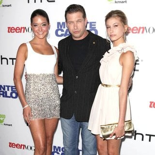 Alaia Baldwin, Stephen Baldwin, Hailey Baldwin in Teen Vogue Premiere of Monte Carlo - Arrivals