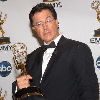 Stephen Colbert in 60th Annual Primetime Emmy Awards - Press Room