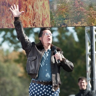 Stephen Colbert in The Rally to Restore Sanity and-or Fear