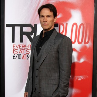 Stephen Moyer in Los Angeles Premiere for The Fifth Season of HBO's Series True Blood - Arrivals