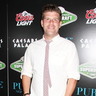 Stephen Rannazzisi in Fantasy Football Superdraft 2009 VIP Party Hosted by Molly Sims - stephen-rannazzisi-superdraft-2009-03