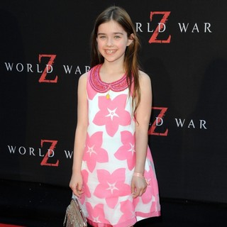 Sterling Jerins in New York Premiere of World War Z - Arrivals