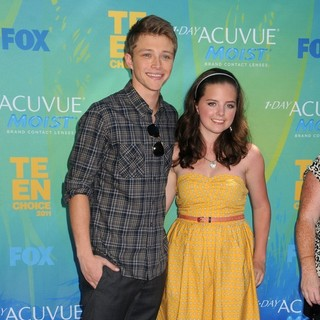 Sterling Knight in 2011 Teen Choice Awards