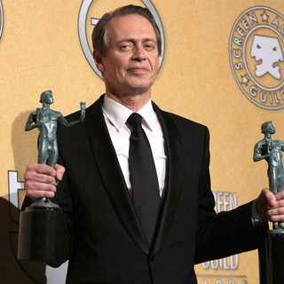 Steve Buscemi in The 18th Annual Screen Actors Guild Awards - Press Room