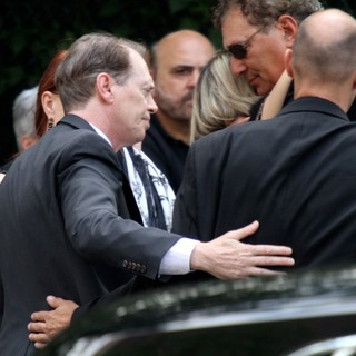 Steve Buscemi in The Funeral Service for Actor James Gandolfini