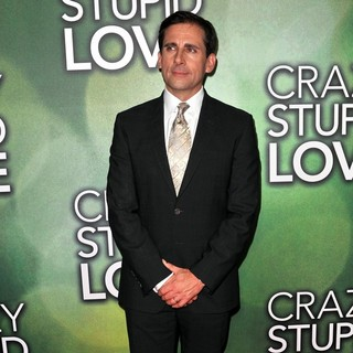 Steve Carell in The Australian Premiere of Crazy, Stupid, Love.