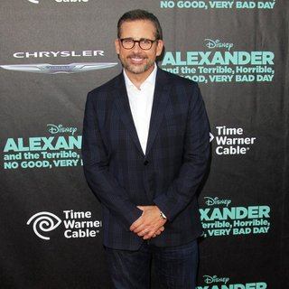 Steve Carell in Premiere of Disney's Alexander and the Terrible, Horrible, No Good, Very Bad Day - Arrivals