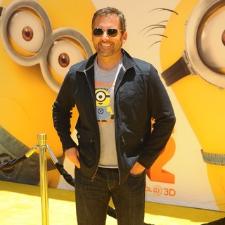 Steve Carell in Premiere of Universal Pictures' Despicable Me 2