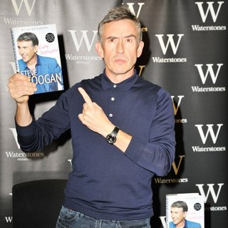 Steve Coogan Signs Copies of His Autobiography Easily Distracted